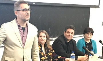 Media attorney and producer George Stephanopoulos moderated  a panel discussion among filmmakers and attorneys about the new financial incentives designed to encourage on-location shooting in Greece
