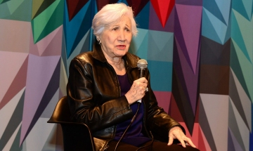 Oscar-winner Olympia Dukakis participated in an audience Q&A following a screening of a documentary about her life.